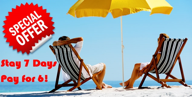 Special-offer-stay 7 pay 6 new
