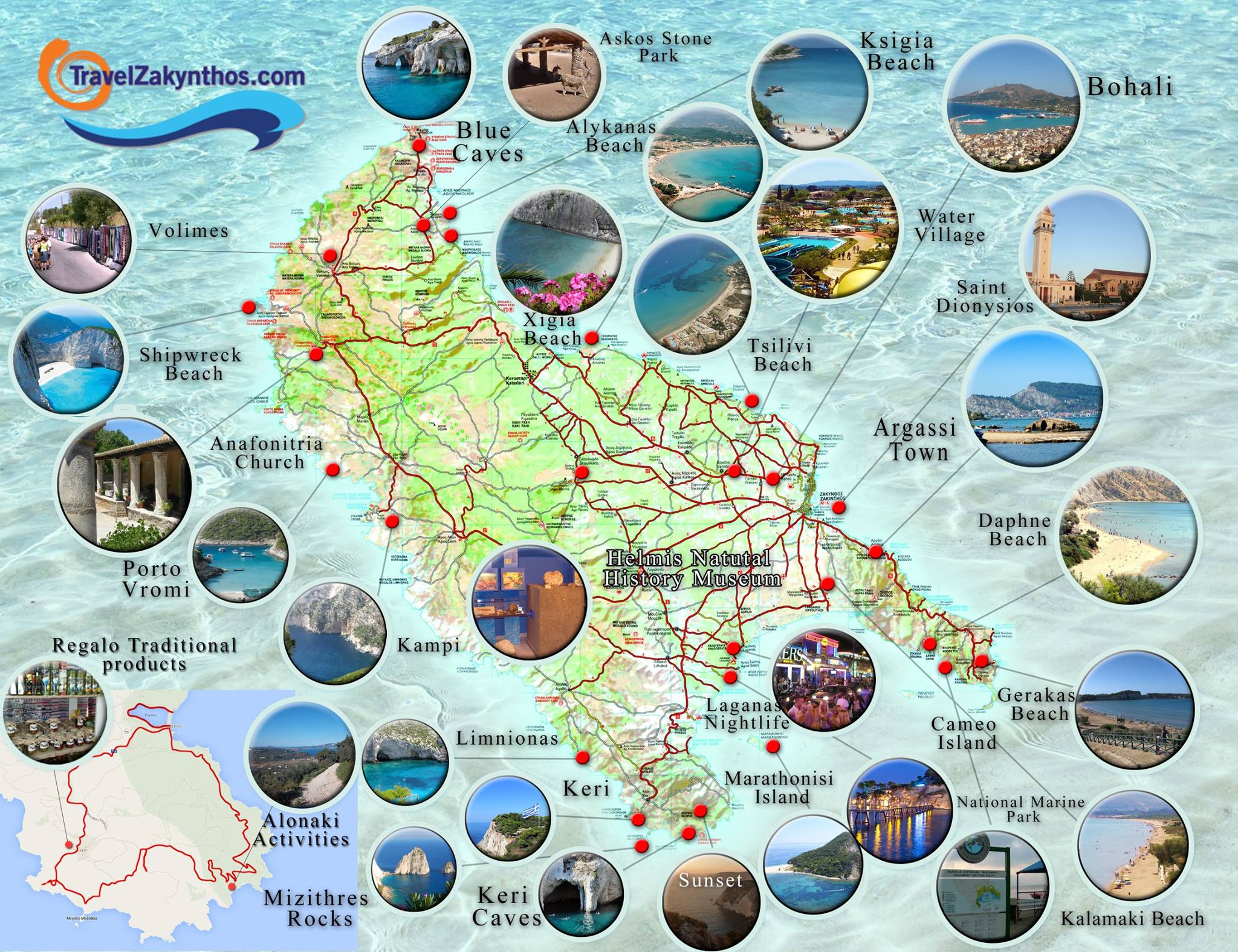 ZANTE MAP